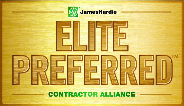 Hardie Elite Preferred Contractor