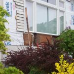 As a licensed siding contractor to work in North Portland this home was old so we expected rot damage underneath.