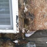 We are Construction Defect repair specialists. Hardie Plank on this wall had to be replaced.