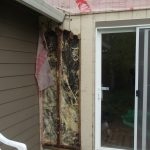 Serious structural damage UNDER Hardie Plank because the previous owner went cheap before he sold. We had to completely redo the house so the new owner got stuck paying for it.
