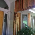Rot UNDER an overhang can happen - Hardie Plank in Clackamas.