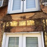 This home was missing $10.00 flashing behind a deck. Now paying for severe structural rot.