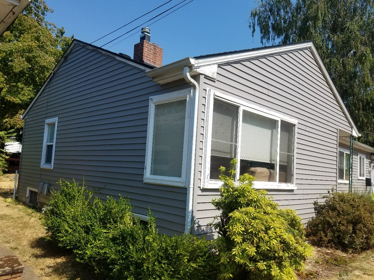 vinyl siding completed by Superior exterior systems